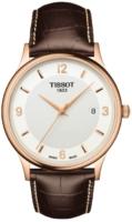 Tissot T-Gold Miesten kello T914.410.76.017.00 Valkoinen/Nahka Ø39 mm