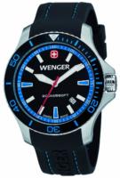Wenger Seaforce Miesten kello 01.0641.104 Musta/Kumi Ø43 mm