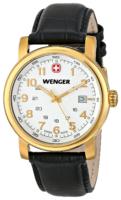 Wenger Urban Classic Miesten kello 01.1041.110 Valkoinen/Nahka Ø41 mm