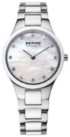 Bering Ceramic Naisten kello 32327-701 Valkoinen/Teräs Ø27 mm