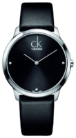 Calvin Klein Minimal Miesten kello K3M211CS Musta/Nahka Ø40 mm