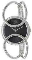 Calvin Klein Inclined Naisten kello K4C2S111 Musta/Teräs Ø30 mm