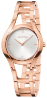 Calvin Klein Classic Naisten kello K6R23626 Hopea/Punakultasävyinen