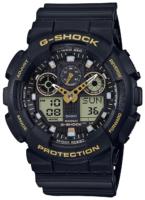 Casio G-Shock Miesten kello GA-100GBX-1A9ER LCD/Muovi Ø55 mm