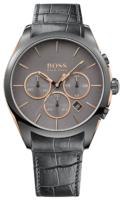 Hugo Boss Onyx Miesten kello 1513366 Harmaa/Nahka Ø46 mm