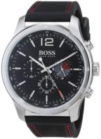 Hugo Boss Chronograph Miesten kello 1513525 Musta/Kumi Ø42 mm