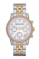 Michael Kors Ritz Naisten kello MK5650 Valkoinen/Punakultasävyinen
