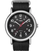 Timex Weekender Miesten kello T2N647 Musta/Teräs Ø38 mm