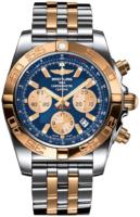 Breitling Chronomat 44 Miesten kello CB0110121C1C1 Sininen/18K