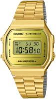 Casio Retro A168WEGM-9EF LCD/Kullansävytetty teräs