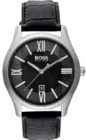 Hugo Boss Ambassador Miesten kello 1513022 Musta/Nahka Ø40 mm