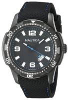 Nautica Analog Miesten kello NAI13511G Musta/Kumi Ø43 mm