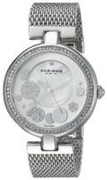 Akribos XXIV Diamond Naisten kello AK881SS Valkoinen/Teräs Ø36 mm
