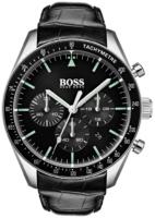 Hugo Boss 99999 Miesten kello 1513625 Musta/Nahka Ø44 mm