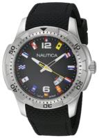 Nautica Analog Miesten kello NAI13517G Musta/Kumi Ø43 mm