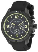 Nautica Chronograph Miesten kello NAI19526G Musta/Kumi Ø47 mm