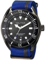 Nautica 99999 Miesten kello NAPPRF002 Musta/Tekstiili Ø45 mm
