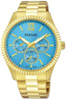 Pulsar 99999 Naisten kello PP6220X1 Sininen/Kullansävytetty teräs