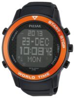 Pulsar Pulsar X Miesten kello PQ2031X1 LCD/Kumi Ø48 mm