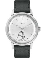 Marlin Snoopy Automatic Silver Dial Black