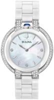 Bulova Diamond Naisten kello 98R265 Valkoinen/Keraaminen Ø35 mm