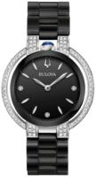 Bulova Diamond Naisten kello 98R266 Musta/Keraaminen Ø35 mm