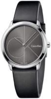 Calvin Klein Minimal Naisten kello K3M221C3 Harmaa/Nahka Ø35 mm