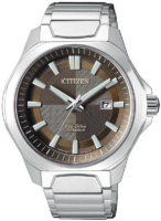 Citizen Titanium Miesten kello AW1540-53W Ruskea/Titaani Ø43.5 mm