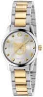 Gucci G-Timeless Naisten kello YA126596 Hopea/Kullansävytetty teräs