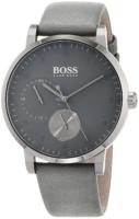 Hugo Boss 99999 Miesten kello 1513595 Harmaa/Nahka Ø42 mm