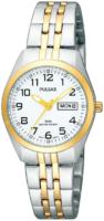 Pulsar Classic Naisten kello PN8006X1 Valkoinen/Kullansävytetty