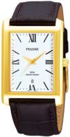 Pulsar Classic Miesten kello PXDB70X1 Valkoinen/Nahka