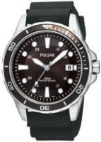 Pulsar 99999 Miesten kello PXH905X1 Ruskea/Kumi Ø40 mm