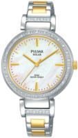 Pulsar Solar Naisten kello PY5049X1 Hopea/Kullansävytetty teräs