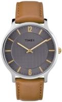 Timex 99999 Miesten kello TW2R49700JT Harmaa/Nahka Ø40 mm