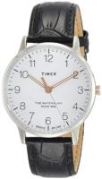 Timex 99999 Miesten kello TW2R71300 Valkoinen/Nahka Ø40 mm