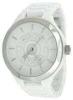 DKNY Dress Naisten kello NY8192 Valkoinen/Muovi Ø46 mm