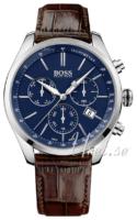 Hugo Boss Swiss Made Miesten kello 1513395 Sininen/Nahka Ø46 mm