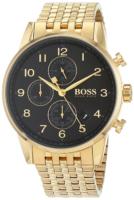Hugo Boss Chronograph Miesten kello 1513531 Musta/Kullansävytetty