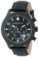 Nautica BFD 105 N18685G Musta/Nahka Ø44 mm