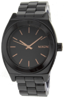 Nixon The Time Teller Naisten kello A250192-00 Musta/Teräs Ø44 mm