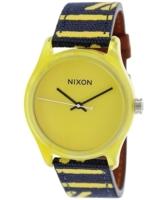 Nixon 99999 Naisten kello A402250-00 Keltainen/Nahka Ø38 mm
