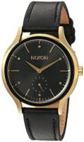 Nixon 99999 Naisten kello A995513-00 Musta/Nahka Ø38 mm