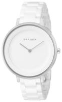 Skagen Ditte Naisten kello SKW2300 Valkoinen/Keraaminen Ø36 mm