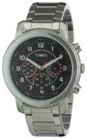 Timex Premium Collction Miesten kello T2N166 Musta/Teräs Ø42 mm