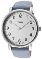 Timex Naisten kello T2N479 Valkoinen/Nahka Ø42 mm