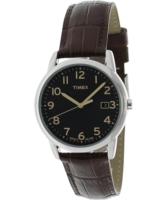 Timex Classic Miesten kello T2N948 Musta/Nahka Ø35 mm