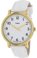 Timex 99999 Miesten kello T2P170 Valkoinen/Nahka Ø44 mm