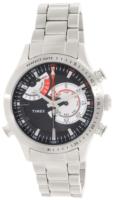 Timex Intelligent Miesten kello TW2P73000 Musta/Teräs Ø45 mm