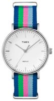 Timex Weekender TW2P91700 Valkoinen/Teräs Ø37 mm